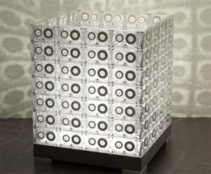 http://technabob.com/blog/2008/06/26/cassette-tape-lamps/